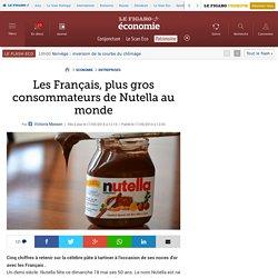 Les Français, plus gros consommateurs de Nutella au monde