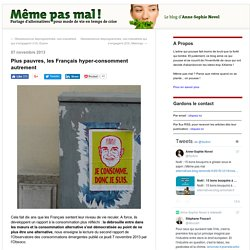Plus pauvres, les Français hyper-consomment autrement