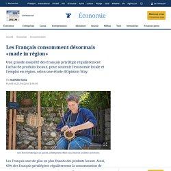 Les Français consomment désormais «made in région»