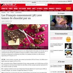 Les Français consomment 387.200 tonnes de chocolat par an - 31/03/2015 - ladepeche.fr