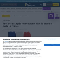 64% des Français consomment plus de produits made in France