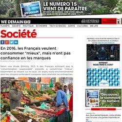 """Les Français veulent consommer """"mieux"""", mais n'ont pas confiance en les marques"""