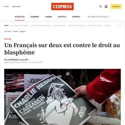Un Français sur deux est contre le droit au blasphème