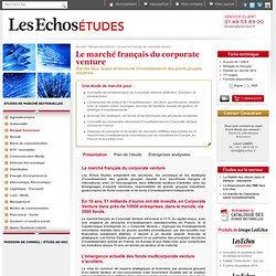 Le marché français du corporate venture
