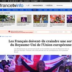 Les Français doivent-ils craindre une sortie du Royaume-Uni de l'Union européenne ?
