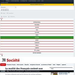 La moitié des Français croient aux théories du complot