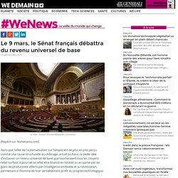 Le 9 mars, le Sénat français débattra du revenu universel de base