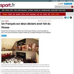Un Français sur deux déclare avoir fait du fitness - Chiffres - Fitness