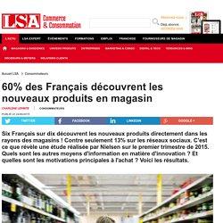 60% des Français découvrent les nouveaux...