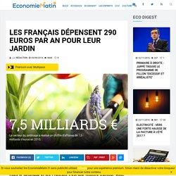 Annexe 13: Les Français dépensent 290 euros par an pour leur jardin