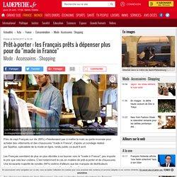"""Prêt-à-porter : les Français prêts à dépenser plus pour du """"made in France"""" - 06/04/2017 - ladepeche.fr"""