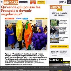 Qu'est-ce qui pousse les Français à devenir végétariens?