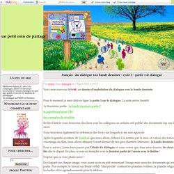 français : du dialogue à la bande dessinée - cycle 3 - partie 1 le dialogue