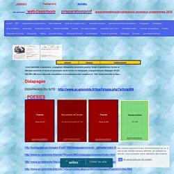français didapages CP,CE1,CE2,CM1,CM2,livres interactifs
