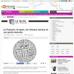 Le Français, le sport, les réseaux sociaux et son porte-monnaie