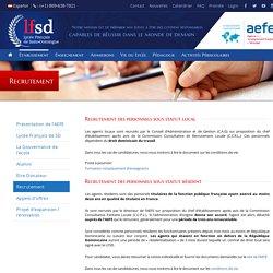 Lycée Français de Saint-Domingue – Recrutement
