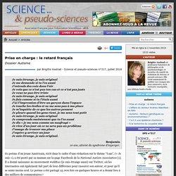 Prise en charge : le retard français - Dossier Autisme