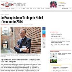 Le Français Jean Tirole prix Nobel d'économie 2014