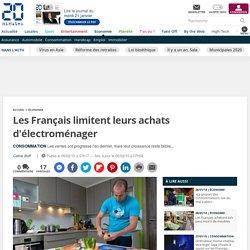 Les Français limitent leurs achats d'électroménager