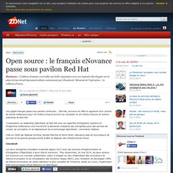 Open source : le français eNovance passe sous pavilon Red Hat