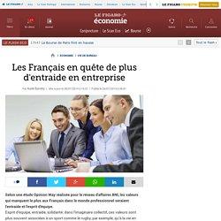 Les Français en quête de plus d'entraide en entreprise