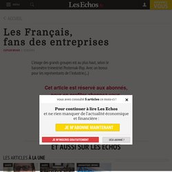 Les Français, fansdesentreprises, Industrie & Services
