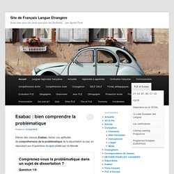 Site de Français Langue Etrangère