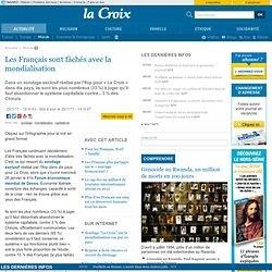 Les Français sont fâchés avec la mondialisation - Monde - la-Croix.com