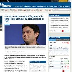 """Ces sept cracks français """"façonnent"""" la pensée économique du monde (selon le FMI)"""