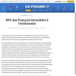 80% des Français favorables à l'euthanasie