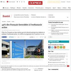 49% des Français favorables à l'euthanasie active