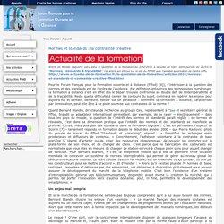 Forum Français de Formation Ouverte et à Distance
