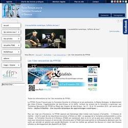 Forum Français de Formation Ouverte et à Distance - Les 13es rencontres du FFFOD