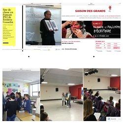 Site de classe en français PEI de Frédéric Gosselin