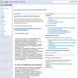 Français - Google Webmaster Help