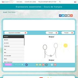 Cours de français gratuit – Apprendre le français - Parler le français