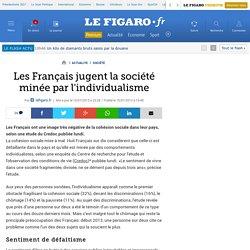 Les Français jugent la société minée par l'individualisme