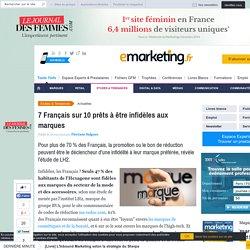 7 Français sur 10 prêts à être infidèles aux marques
