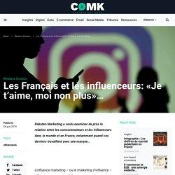 Les Français et les influenceurs: «Je t'aime, moi non plus»...