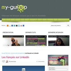 Les français sur LinkedIn - Infographie marketing