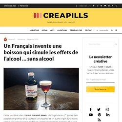 Un Français invente une boisson qui simule les effets de l'alcool ... sans alcool