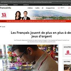 Les Français jouent de plus en plus à des jeux d'argent