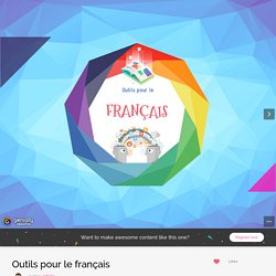 Outils pour le français by JpBolle on Genially