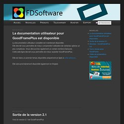 GoodFrame - Présentation