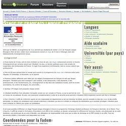Stage de français langue étrangère