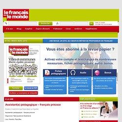 FDLM : Le français dans le monde