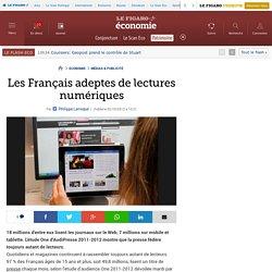 Les Français adeptes de lectures numériques