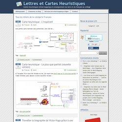 » Français - Lettres et Cartes Heuristiques