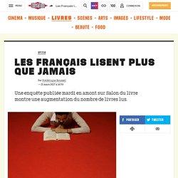 Les Français lisent plus que jamais