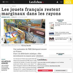Les jouets français restent marginaux dans les rayons, Conjoncture